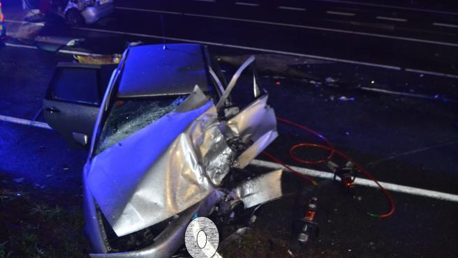 Accidente mortal en Santiago de Compostela.