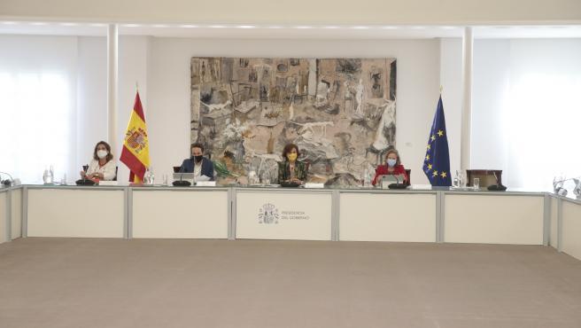 Consejo de Ministros que ha decretado este viernes el estado de alarma en la Comunidad de Madrid.