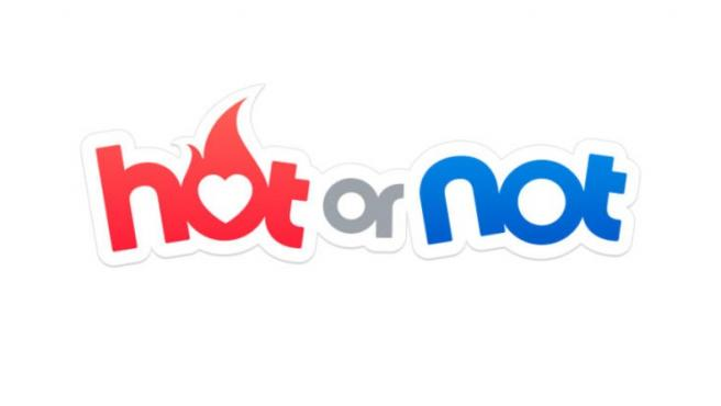 The current HotorNot logo.