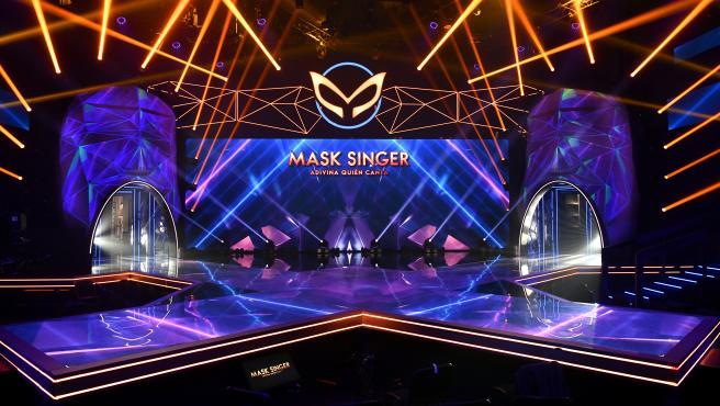 Así es el plató de 'Mask Singer: adivina quién canta'.