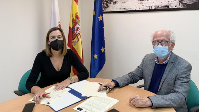16:30.- Despacho de la consejera La consejera de Economía y Hacienda, María Sánchez, firma un convenio de colaboración con la Casa de Europa.
