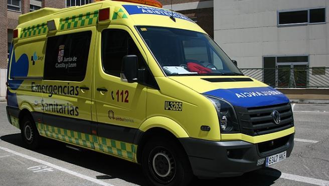 Ambulancia Soporte Vital Básico de Sacyl