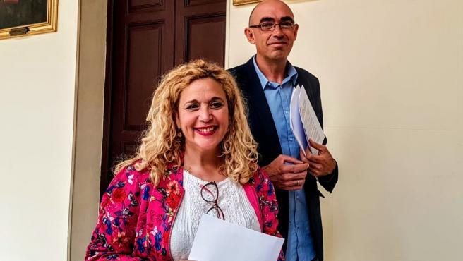Eduardo Zorrilla y Remedios Ramos (IU)