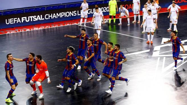 El Barça consigue el pase a la final de la Champions de fútbol sala