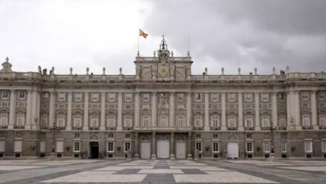 Fachada del Palacio Real.