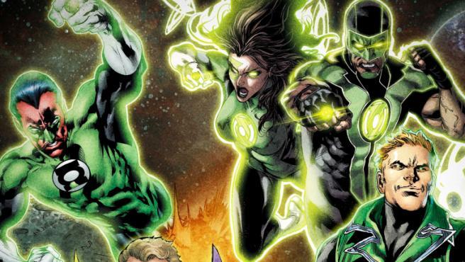 'Green Lantern'.