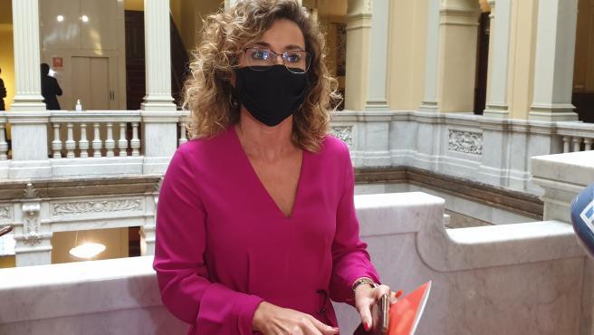 La portavoz de Ciudadanos en la Junta General del Principado, Susana Fernández