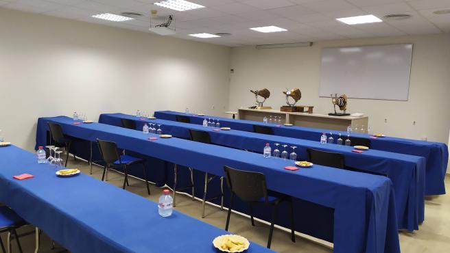 Las aulas del Palacio de Congresos de Teruel ya están completas para octubre y noviembre para reuniones de trabajo.
