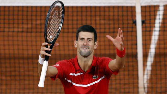 Novak Djokovic, en Roland Garros