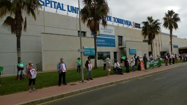 Performance ante el Hospital de Torrevieja