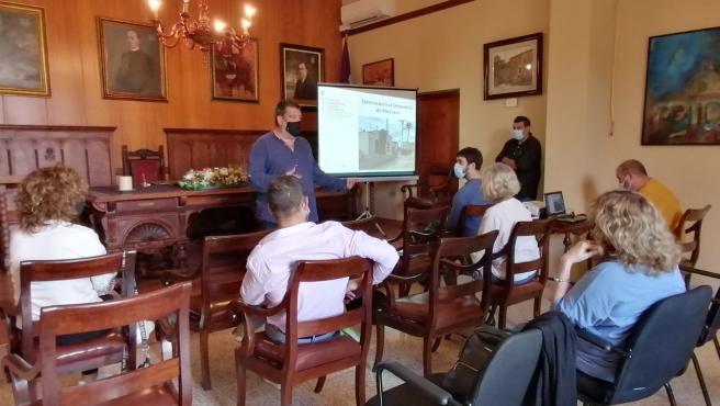 Presentación de la segunda intervención en el cementerio de Porreres para localizar víctimas de la Guerra Civil.