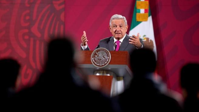 Fotografía cedida por la presidencia de México del presidente Andrés Manuel López Obrador.