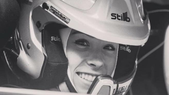 Laura Salvo, copiloto fallecida durante un rally en Portugal