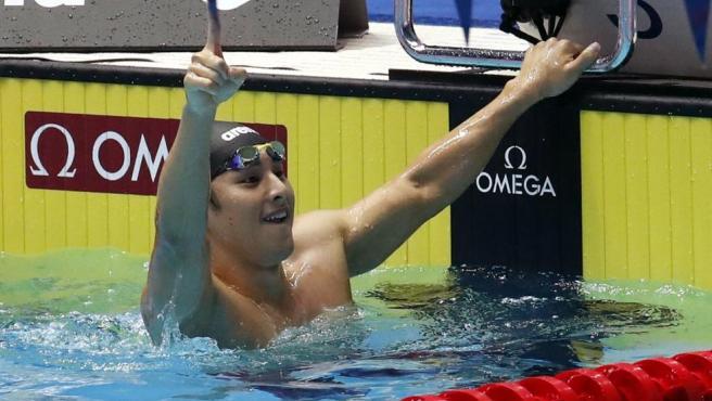 Daiya Seto, nadador japonés