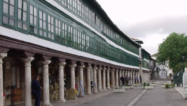 Exterior del Corral de Comedias de la localidad de Almagro