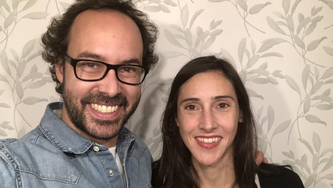 Elena Blanco y Gonzalo Oroño