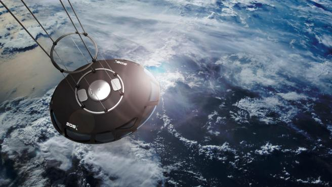 La nueva cápsula de EOS X-Space que hará posibles los viajes a la estratosfera
