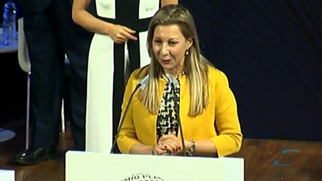 Eva García Sáenz de Urturi, ganadora del premio Planeta.