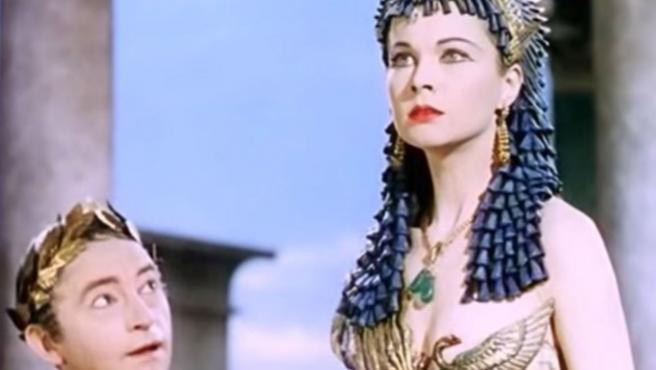 Vivien Leigh en 'César y Cleopatra' (1945)