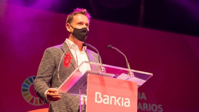 Anthony Renton (Vrio Mobility), premio 'Héroes' Bankia Joven Empresario