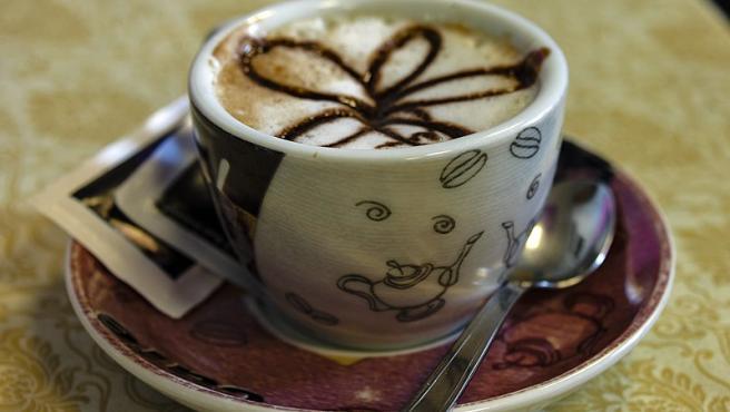 Imagen de un café 'capuccino'.