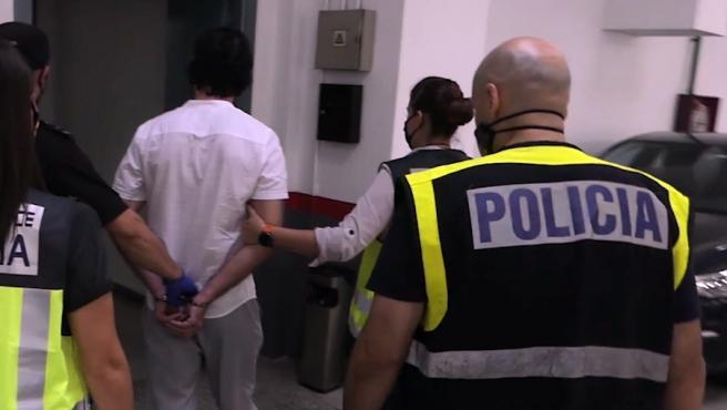 Detención del fugitivo en Hospitalet de l'Infant, Tarragona.