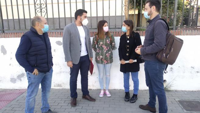 El PSOE se hace eco de las demandas educativas de Dúrcal