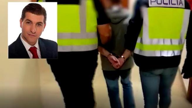 Imágenes de la detención en Zaragoza por parte de la Policía Nacional de César Román Virueta, el conocido como Rey del cachopo