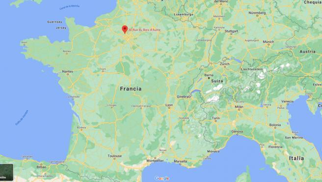 La localidad francesa donde se ha producido el ataque.