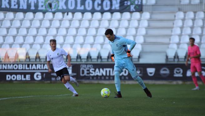 Lucas Cañizarez, durante un partido.