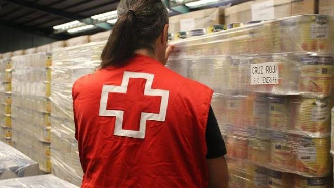 Cruz Roja distribuye cerca de un millón de kilos de alimentos en Canarias
