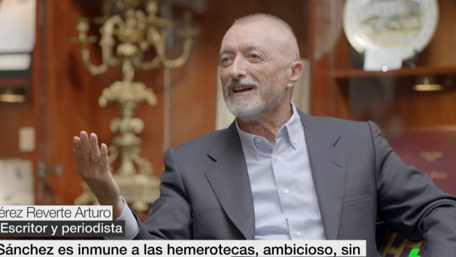 Arturo Pérez-Reverte, entrevistado en 'laSexta Noche'.