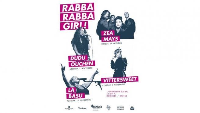 Cartel del ciclo Rabba Rabba Girl