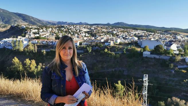 La portavoz local del PP de Monachil (Granada), Cristina Marín.