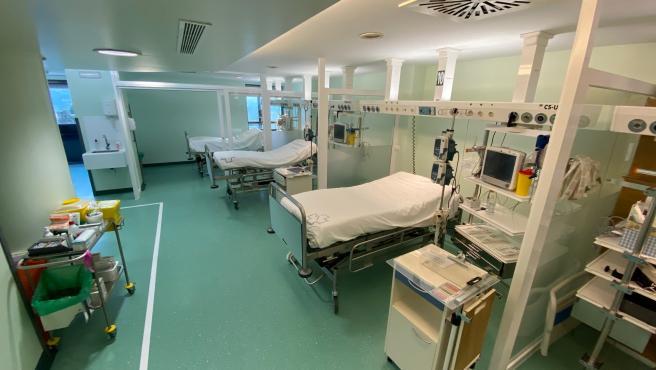 Unidad de reanimación del Hospital Montecelo