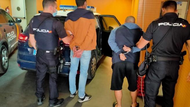Detención por robos en polígonos