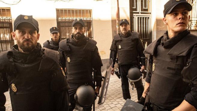 'Antidisturbios': así fue la investigación de Sorogoyen y Peña para crear a sus policías de la calle