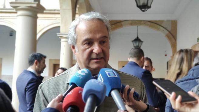 El presidente del Tribunal Superior de Justicia de Asturias (TSJA), Jesús Chamorro