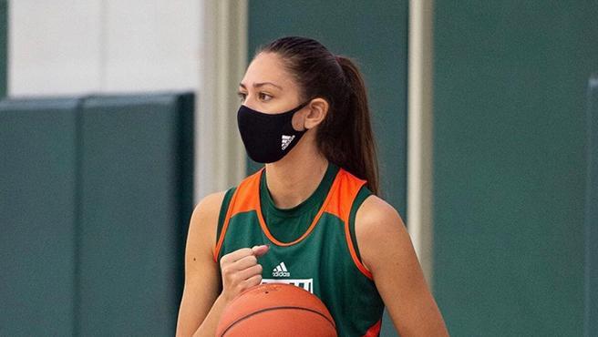 Paula Fraile, jugadora de baloncesto