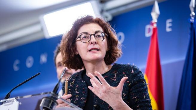 La eurodiputada de Cs Maite Pagazaurtundúa, en una foto de archivo.