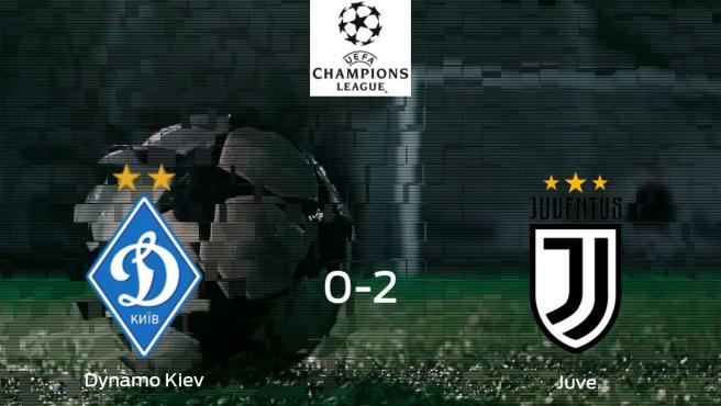 Dynamo Kiev Juventus Resultado Resumen Y Goles En Directo Del Partido De Futbol De La Champions League