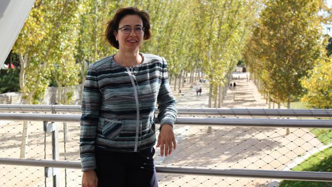María Lázaro, autora del libro 'Redes sociales y menores. Guía práctica'.