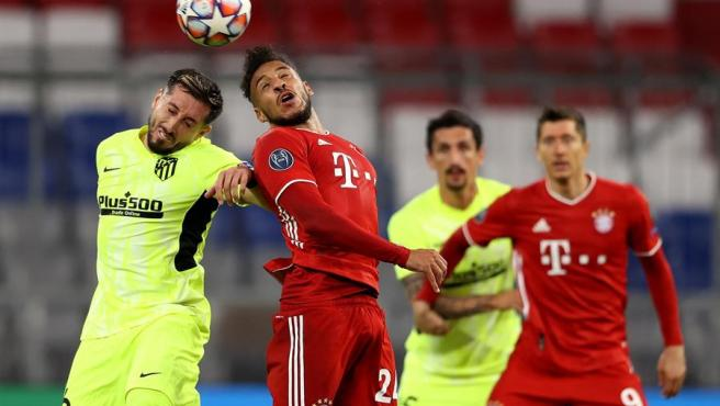 Un momento del Bayern vs Atlético.