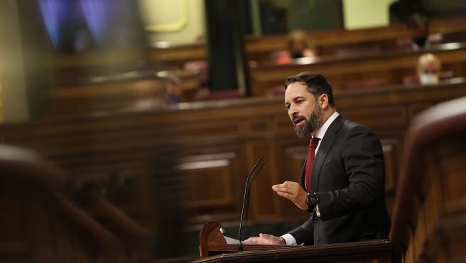 Debate de la moción de censura de Vox en el Congreso de los Diputados