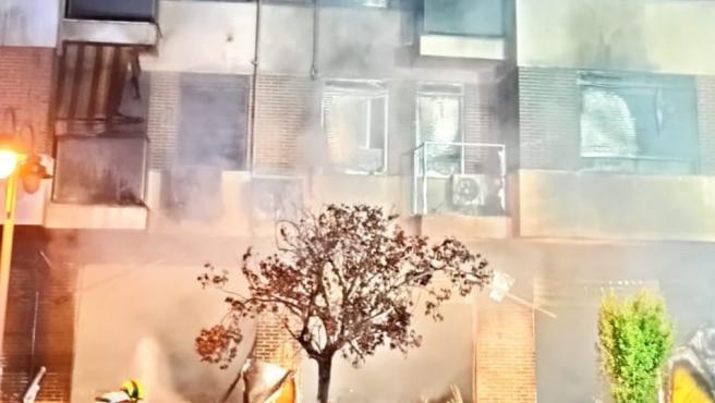 Incendio en Alzira