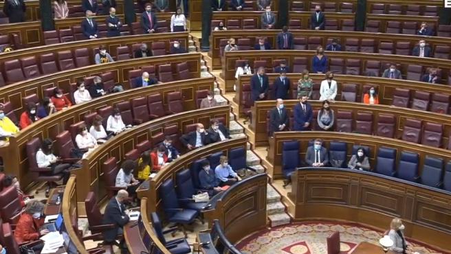 Santiago Abascal lee los nombres de las víctimas de ETA.