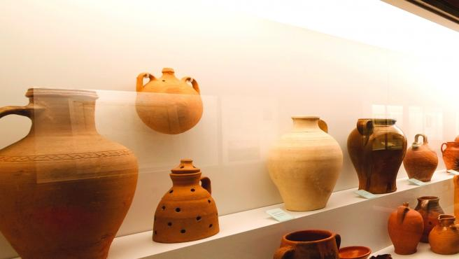 Una de las salas del Museo de Segovia.