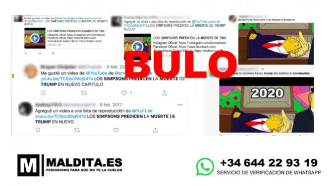 experimental Maestro Misionero  Los bulos de Maldita: Cosas que 'Los Simpson' no predijeron y se  convirtieron en bulos