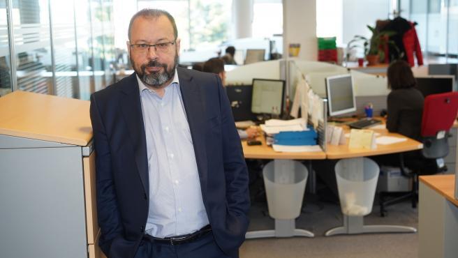 César Hernández, jefe del Departamento de Medicamentos de Uso Humano de la Agencia Española de Medicamentos y Productos Sanitarios