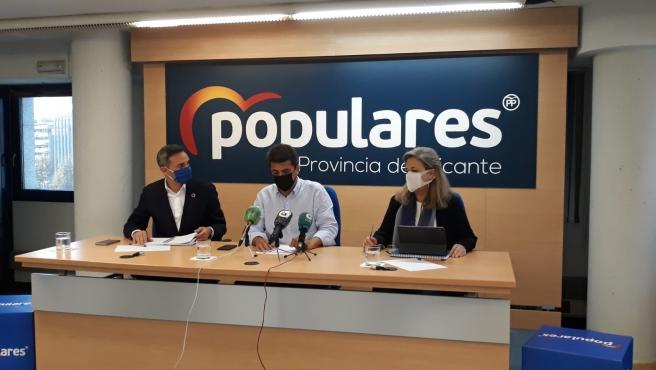César Sánchez y Carlos Mazón valoran la moción de censura fallida de Vox